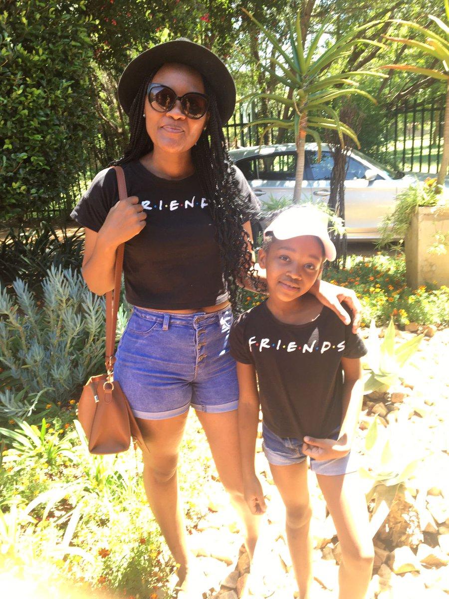 Twinning with my last born ❤️ #SaturdayVibes
