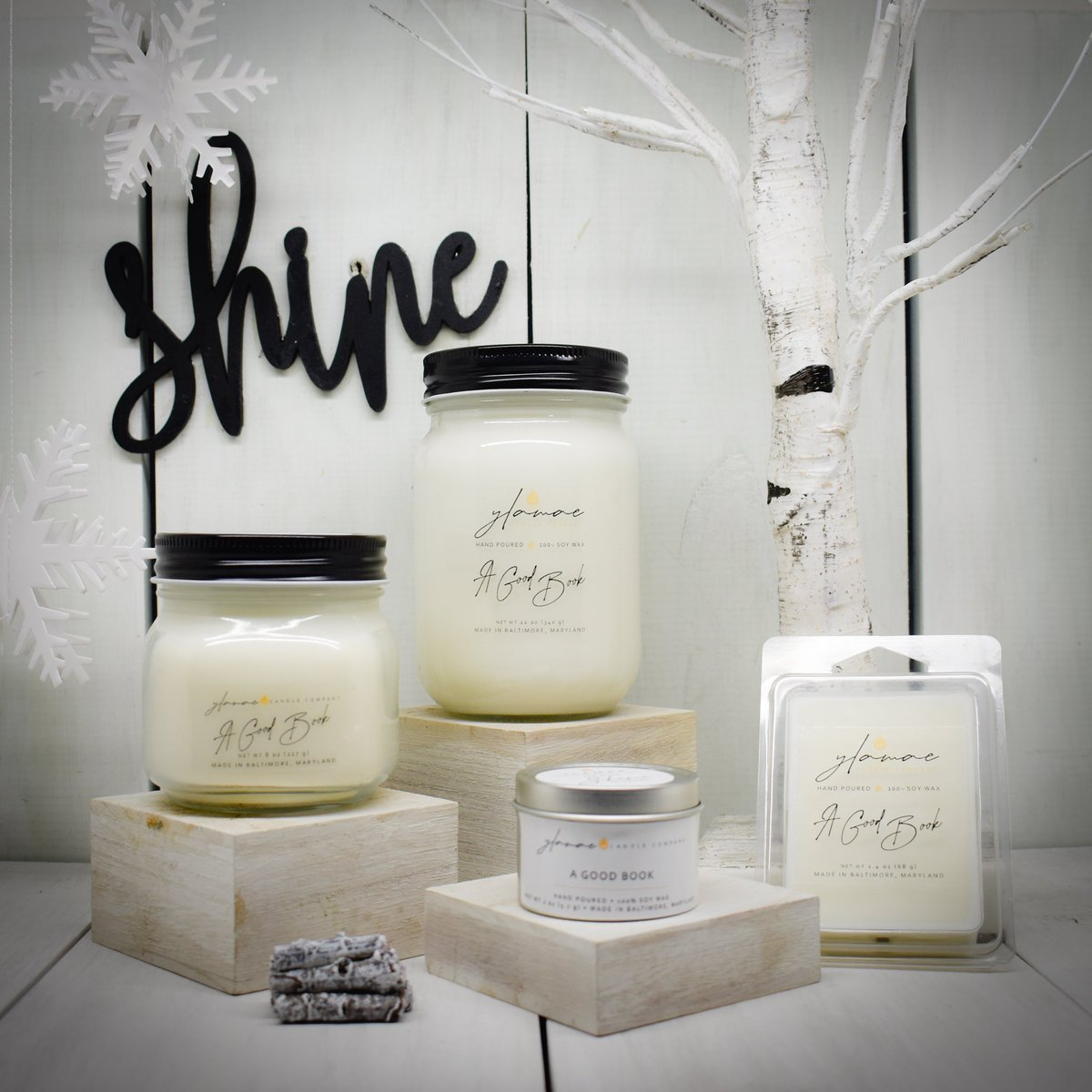 I'm launching the Winter Line today! ❄️ #ylamae #shine #candle #candles #candlelover #candlemaking #candlebusiness #homedecor #homemadecandles #decor #wax #waxmelts #puresoycandles #puresoywax #soywaxcandles #soywaxcandle #soywaxmelts #handpoured #handmade #custom #scent