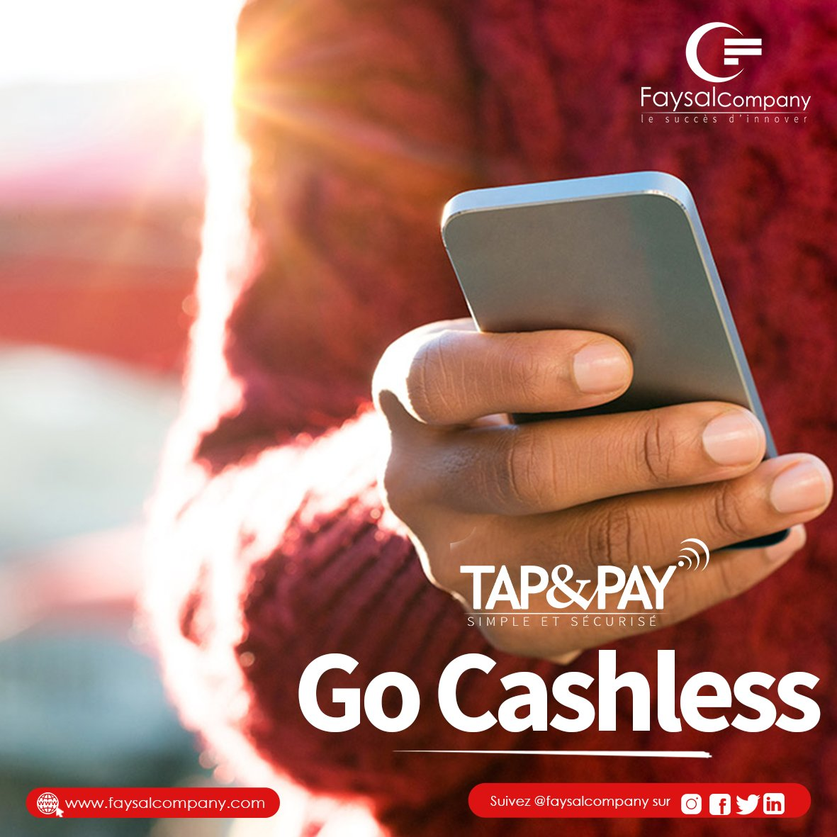 Are you looking for a secure platform for you transactions? Take advantage of Tap and Pay features that allows you to make transactions.  Available in Google Play :   #FaysalCompany #TapandPay #Wintogether #FinancialInclusion #Fintech