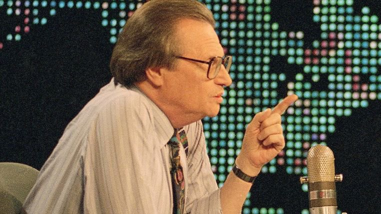 Rest in Peace the KING of radio journalism.... 🙏🙏👊👊🙏🙏  US talk show host Larry King dies weeks after testing positive for COVID-19
