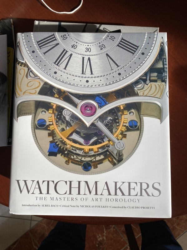 Replying to @PuristSPro: Reading this book  #HorologicalMeandering