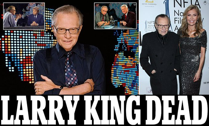 Larry King, legendary talk show host, dies at 87 Photo