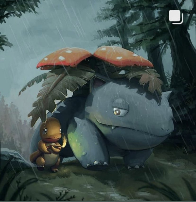 Friends in the Rain 🌧 ☔️Amazing Artistry 🔥#PokemonTCG #pokemoncommunity #pokemon
