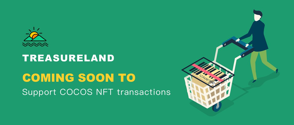 To celebrate #COCOS #NFT trading in #DEGO Treasureland, our partner offers Whitelist #Giveaway to our community.   1) Follow @dego_finance & @CocosBCX 2) RT & Tag 3 friends 3) Fill in this form:   1000 fans will be selected randomly on Jan 27th (UTC+1 PM)