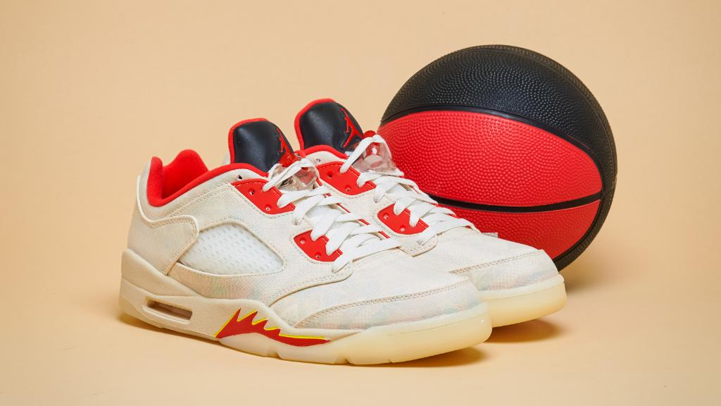 The #Jordan Retro 5 Low 'Chinese New Year' is now available online & in-store.  Shop: