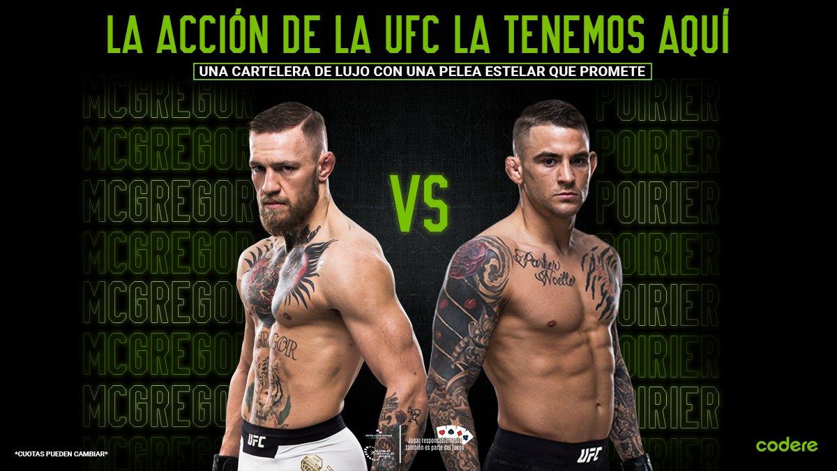 😎 #TheNotorious is back!  🔥 Hoy tenemos un gran cartelera en #UFC257   🥊 Connor McGregor vs. Dustin Poirier en la estelar de la noche, ¿a quién le van?