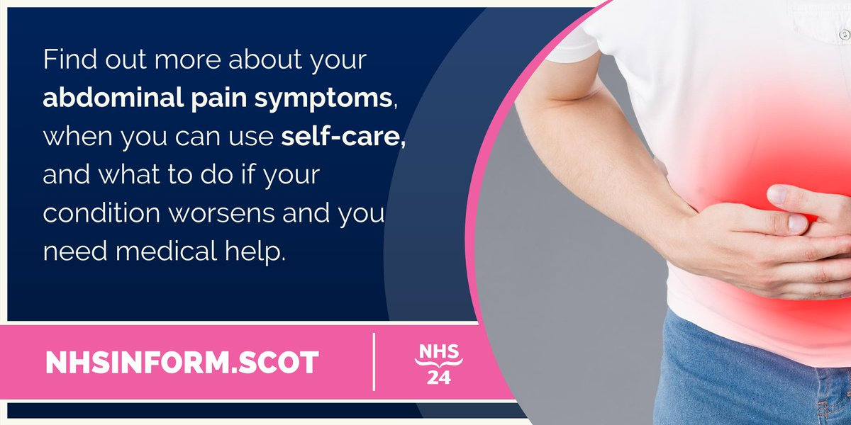 test Twitter Media - Stomach pains are common, and usually subside on their own. Find out more about your abdominal pain symptoms, when you can use self-care, and what to do if your condition worsens and you need medical help with the #NHSinform self-help guide https://t.co/1azg7O5aBG https://t.co/FqYpYvNp97
