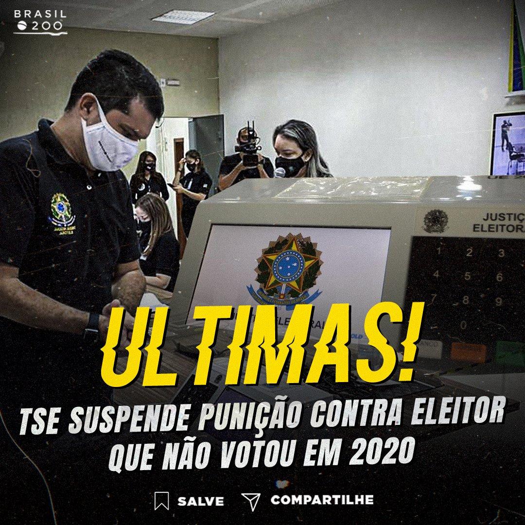O presidente do TSE, Luís Roberto Barroso disse que o agravamento da pandemia de coronavírus no Brasil dificulta a justificativa eleitoral ou o pagamento da multa.  Siga: @brasil.200  #br #brasil #eleição #eleições2020 #TSE #barroso
