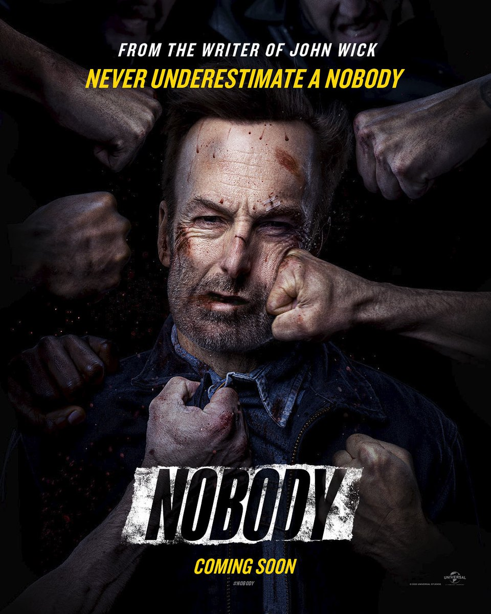 #BobOdenkirk is #Nobody.  Coming to #INOX, this April 2