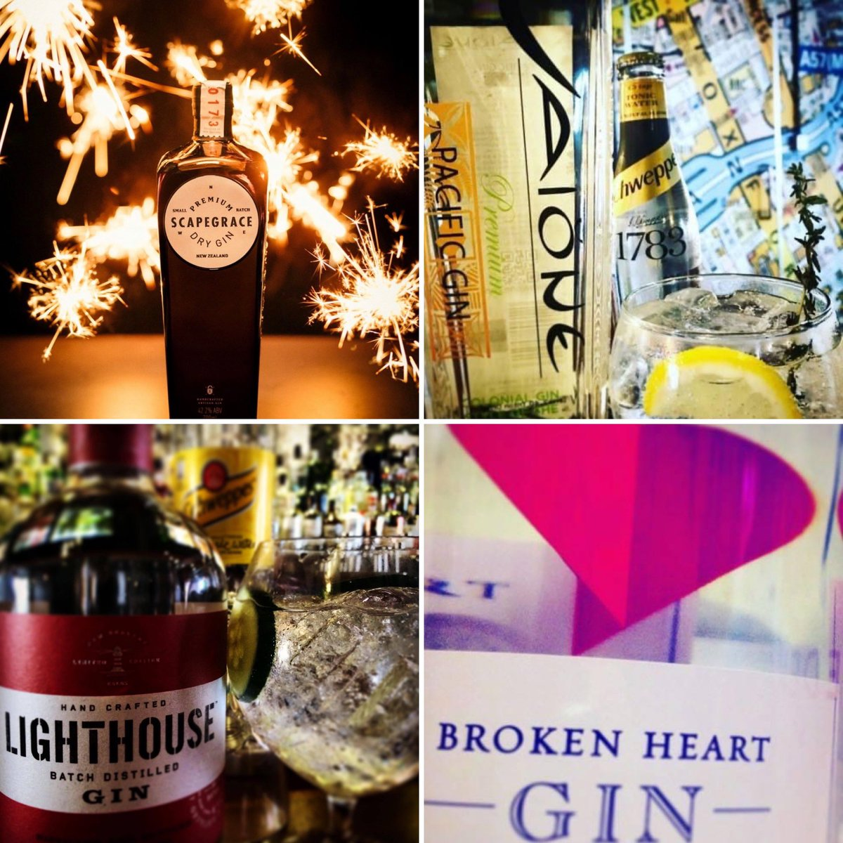 Happy #NewZealandGin to all of our #gin friends from us @TheAtlasBar 🎉  We'll definitely be raising a glass or two today to celebrate 🍸  What's your favourite #Manchester?   @scapegracegin @VaioneGin @BrokenHeart_NZ