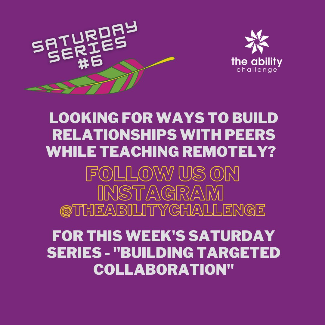 Saturday, saturday...Click the link...Hear what we have to say!    #specialeducation #speced #targetedcollaboration #theabilitychallenge #inclusiveeducation #teachers #schoolimprovement
