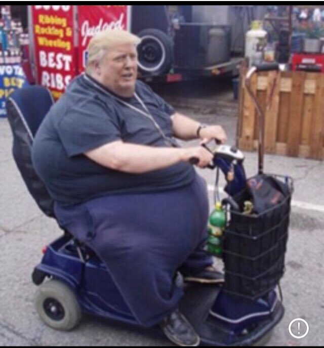 #TrumpsNoteToBidenSaid I did more than Abraham Lincoln. Now Hillary Clinton says she'll take a hammer to my scooter. It's all very unfair!