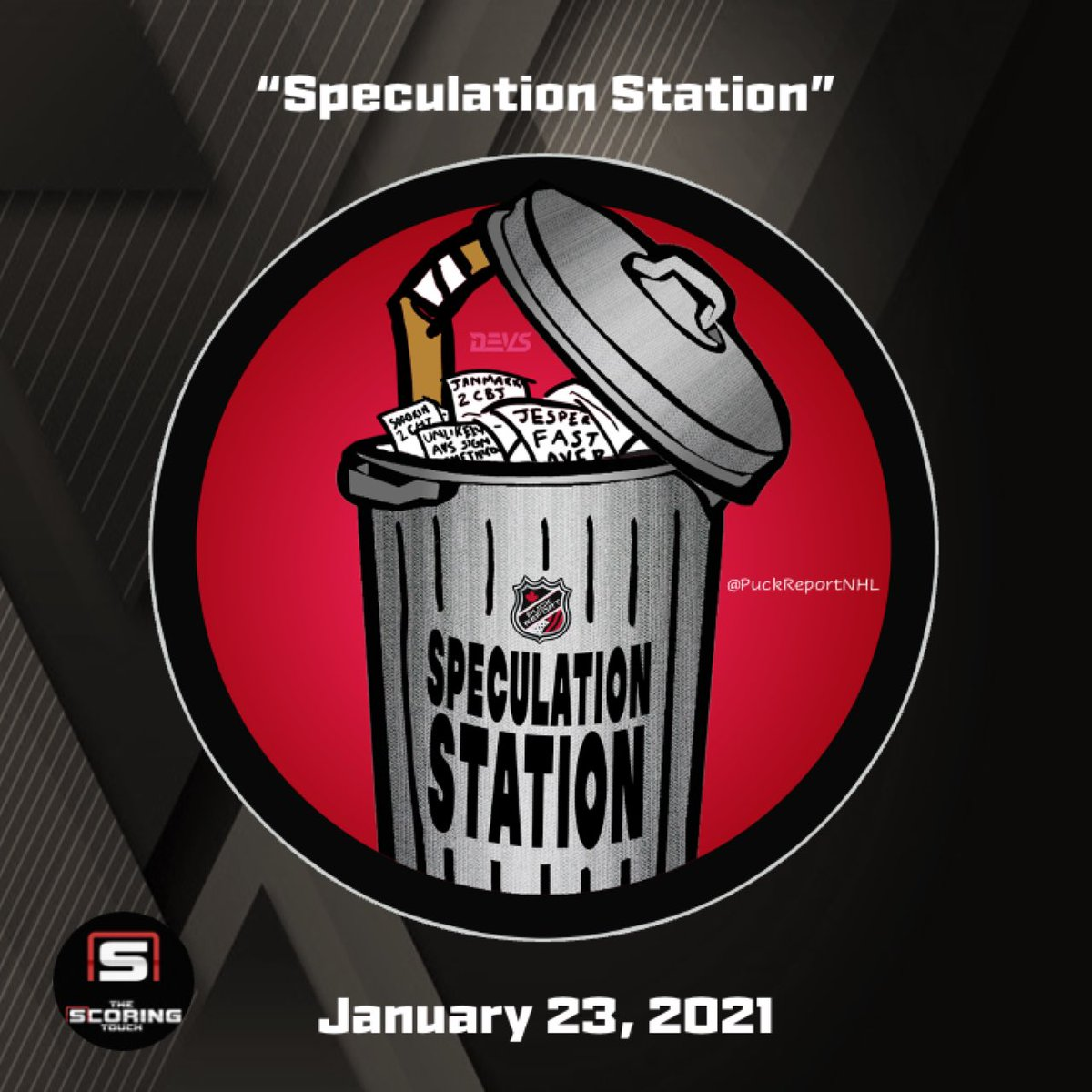 SPECULATION STATION: - Scouts at #NYR/#LetsGoPens - Update on AHL's Canadian teams - #GoBolts hope to allow fans soon - Notes on #LetsGoCanes situation  👇   #FlaPanthers #GoKraken #MNWild #FlyTogether #LGRW #SJSharks #AnytimeAnywhere #VegasBorn #CofRed