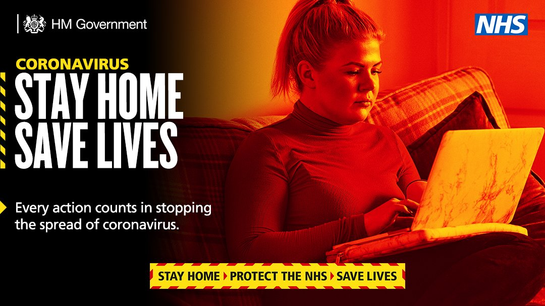 Coronavirus cases remain dangerously high.   Our vaccine programme is accelerating to protect the most vulnerable.  But we must continue to #StayHome to protect the NHS and save lives.  #StayHomeSaveLives