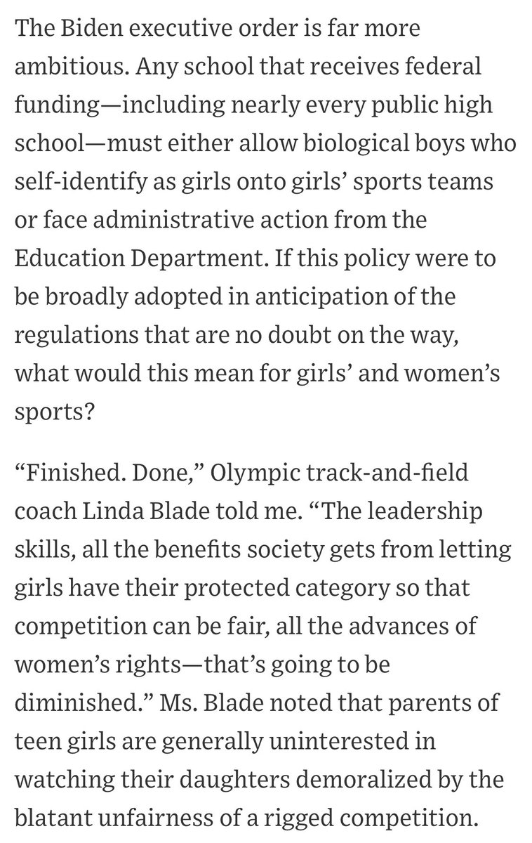Is this good or bad for female sports moving forward?   #Sports I #womeninsports I #SaturdayThoughts