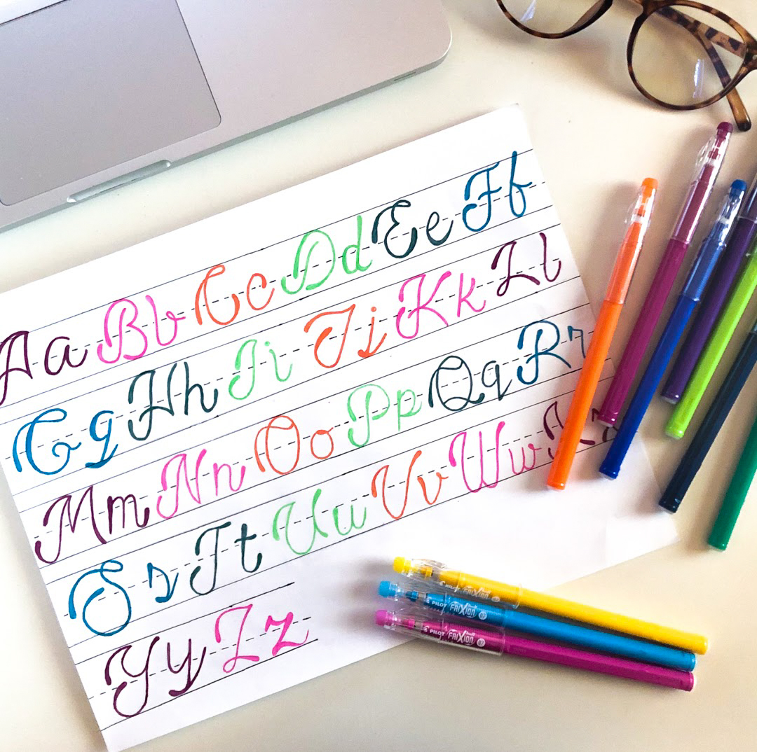 Happy National Handwriting Day! Take today to practice mistake-free penmanship with the help of our erasable FriXion ColorSticks! #PowerToThePen
