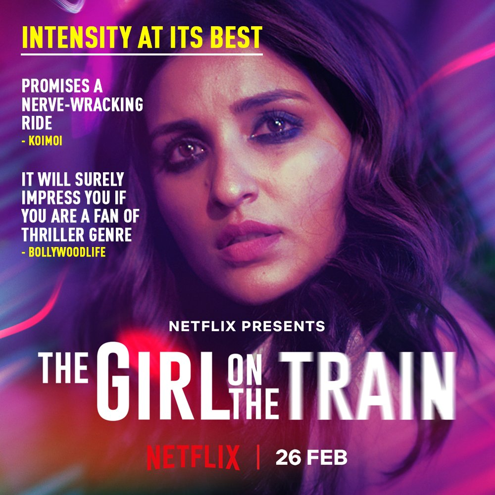 The world can't wait for the ride to begin! #TGOTT premieres 26th Feb, only on Netflix.    @ParineetiChopra @aditiraohydari @IamKirtiKulhari @avinashtiw85 @tota_rc @SHAMAUN @ribhudasgupta @Shibasishsarkar @amblin @ZeeMusicCompany @NetflixIndia