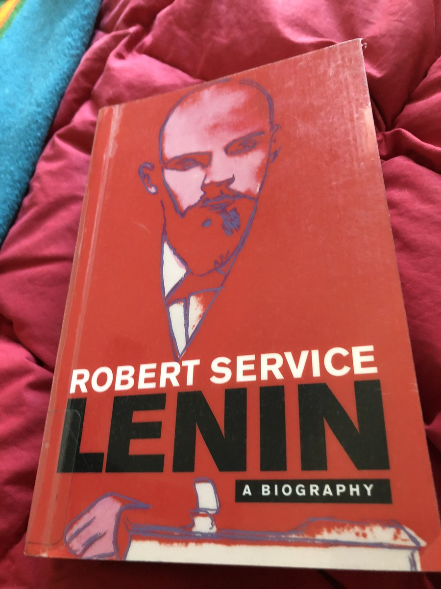 2021 Book thread (let's see if I can keep this going) - just finished off this serviceable (lol) biography of Lenin