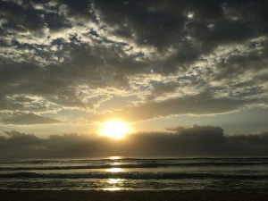 Sunset on the #beach. The #perfect space to #relax  and #recharge. #sunsets #vacation #travel #SaturdayMorning #SaturdayThoughts #Willian #SweetNightBestOST #VacationofLove