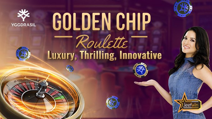 Golden Chip Roulette by Yggdrasil brings a unique Golden Chip feature to the table.  Get to experience
