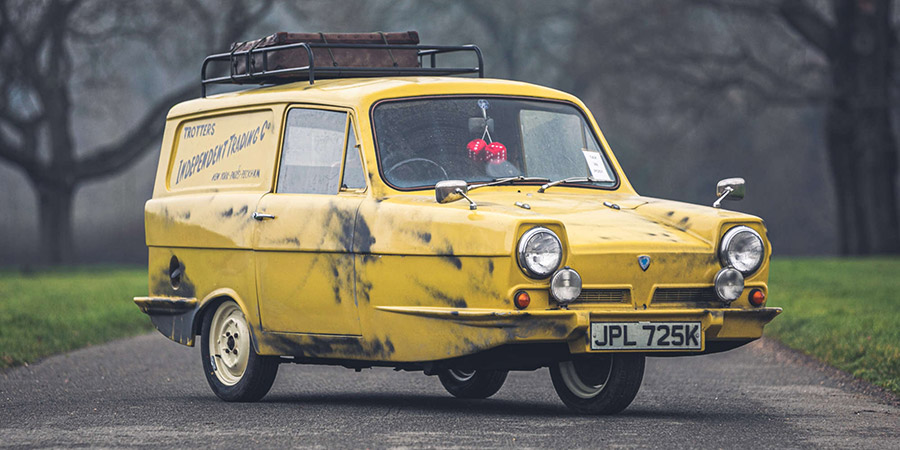 One of Del Boy & Rodney's original three-wheeled Reliant Regal Supervan IIIs, as used in filming Only Fools & Horses, is up for auction.