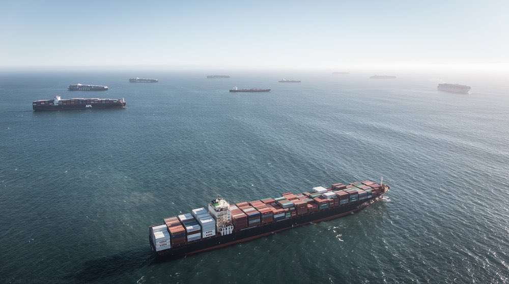 30+ ships backed up at LA & Long Beach ports. Now get ready for the surge of containers for #CNY.  Assuming there are enough empty containers & available ships not jammed at LA. Will Lunar New Year be the break needed? If not, then what? #supplychains #maritime.