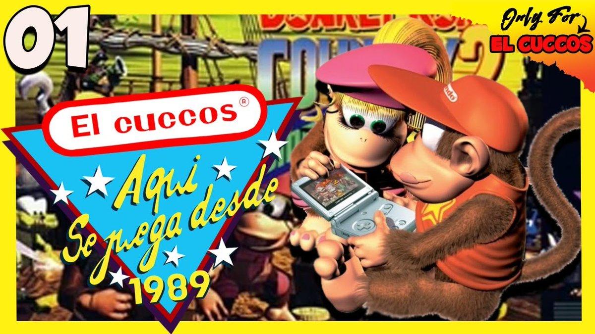Es para mi un orgullo estrenar la nueva sección de @Elcuccos   Esta noche nos maratoneamos el gran Donkey Kong Country 2 de Snes en Nintendo Switch Online.  ¡Os esperamos! 🍌