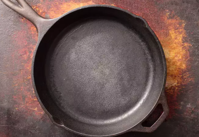 Cast Iron is an excellent way of including iron in your body and for the same reason, most of the green veggies are cooked in iron vessels. But you must not store food in it as it gives an acrid taste to the food.