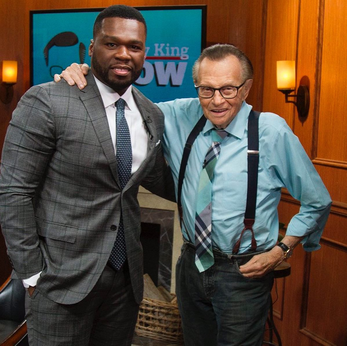 Replying to @50cent: R.i.P To the legend Larry King God bless him. 🙏🏿🕊
