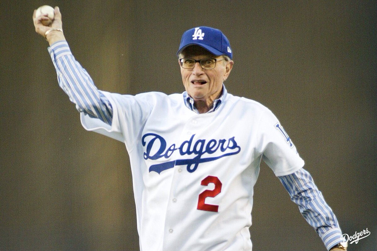 The Los Angeles Dodgers are saddened by the passing of Larry King and offer their deepest condolences to his family and friends.