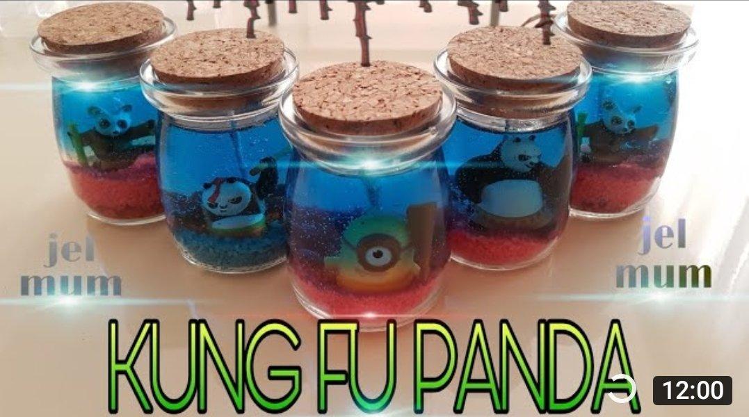 JEL MUM YAPIMI  #kungfu #kungfupanda #despicable #despıcable #panda #candle #minyonlar #çılgınhırsızlar #çılgınhırsızlar3 #jelmum #mum #gundem #gundemotesi