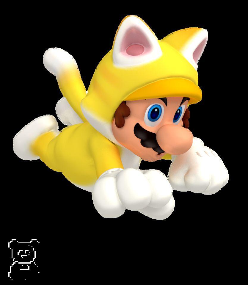 Do you think Cat Mario ever gets the zoomies? 🤔🐱 (By Nintega-Dario: ) #Mario #CatMario #SuperMario3DWorld #Nintendo #gaming #Taizen #大全