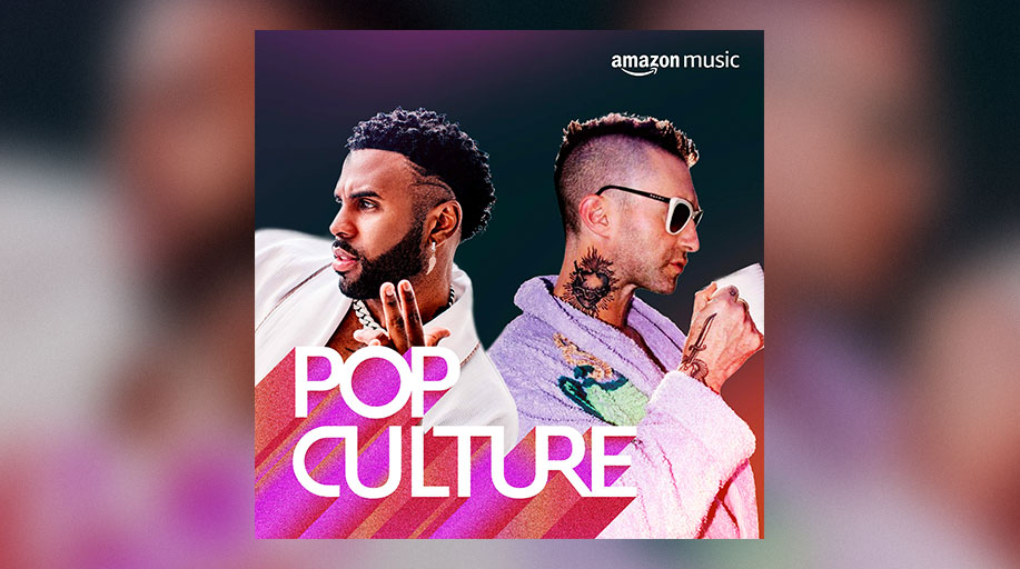 What pop hit have you added to a playlist recently? 🌟  Hear our latest faves on our Pop Culture playlist featuring @jasonderulo, @adamlevine, @DUALIPA, and more only on Amazon Music 🎧: