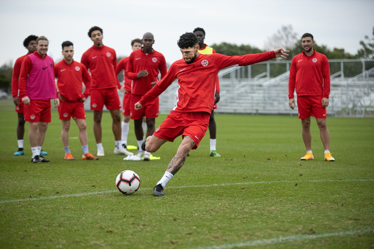 """I'm very excited, the development has come a long way in this country. And it shows every time. Every January camp, it gets better."""" @TorontoFCs Jonathan Osorio discusses progress for #CANMNT: soc.cr/twll30rtP1o (📸: @CanadaSoccerEN)"""