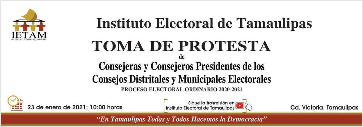 #ÚNETE | Iniciamos transmisión de la Toma de Protesta de los Presidentes de los Consejos Distritales y Municipales