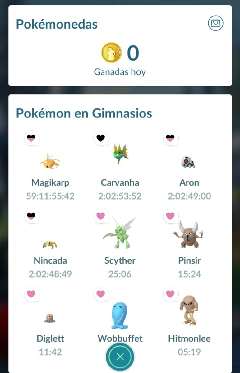 Ya quiero mis Pokemonedas del día, a ver a qué hora se les ocurre regresarme aunque sea un Pokémon 👀 #PokemonGo #PokemonGOfriend #Pokemon