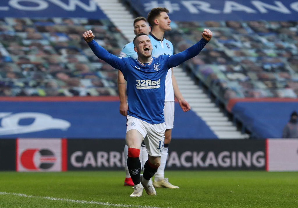 Rangers are 3-0 up and well on their way to going 23 points clear.  Follow the Scottish Premiership: