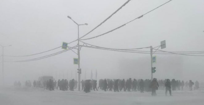 Replying to @b_nishanov: This pro-Navalny protest in Yakutsk in the negative 50C absolutely blows my mind
