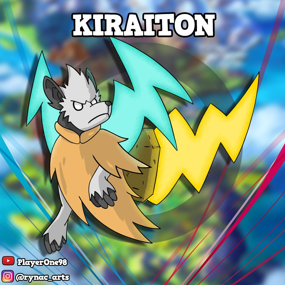 Today I was in livestream and with my fans i create a brand new Fakemon. This is Kiraiton, a mythical Electric Pokémon ispired to 3 different mythology: Japanese Mythology, Egyptian Mythology and Native American Mythology.⚡⚡⚡ #Pokemon #Fakemon