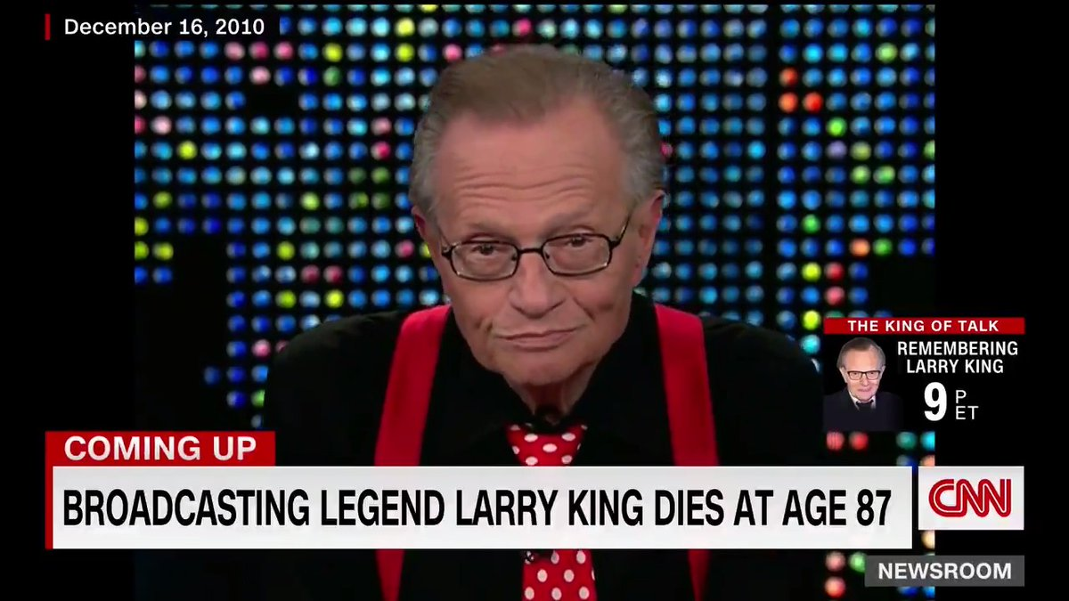 """""""Instead of goodbye, how about so long?""""  Watch Larry King sign off from """"Larry King Live"""" on CNN for the last time."""