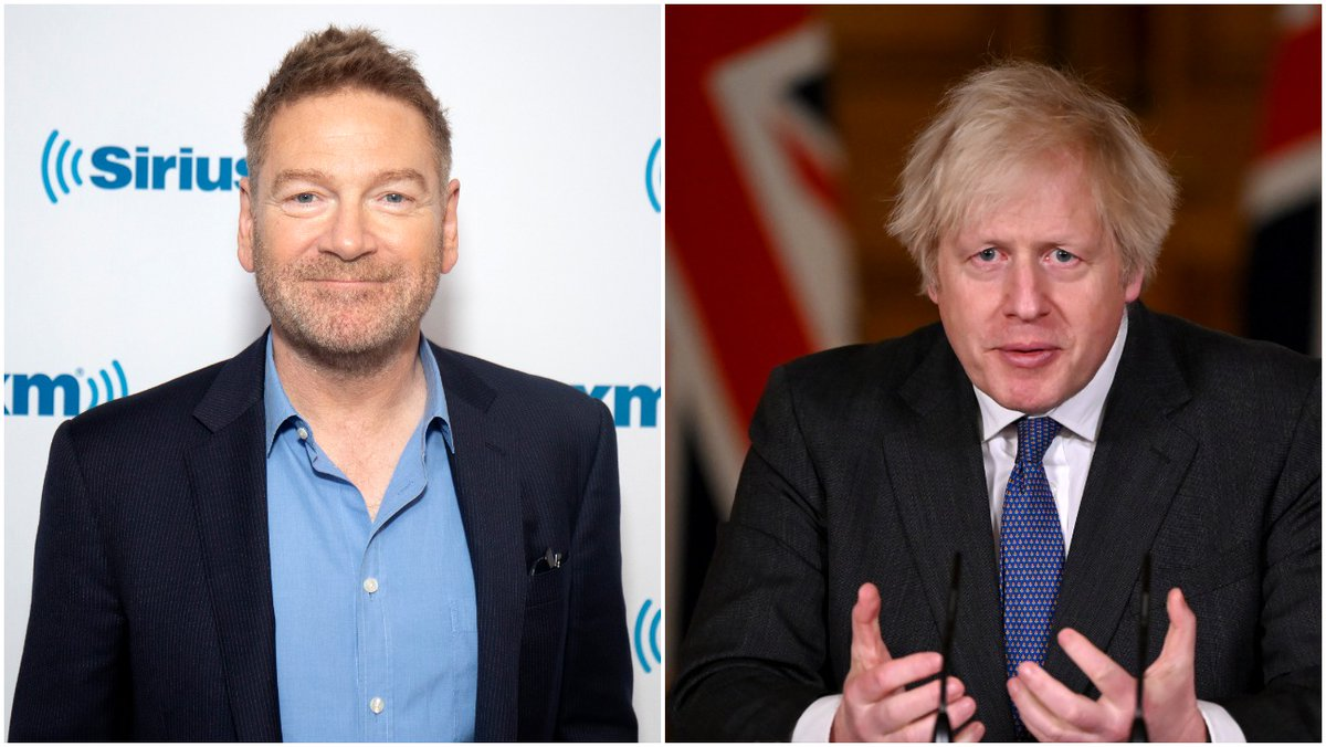 Kenneth Branagh is set to play U.K. Prime Minister Boris Johnson in Michael Winterbottom's upcoming limited series charting the early days of the COVID-19 pandemic