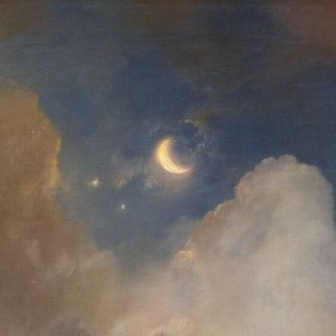 the moon in paintings
