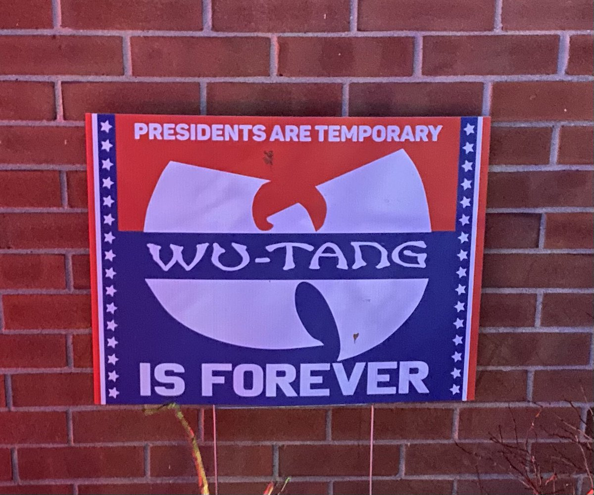 @WuTangClan ain't nothing to f**k with #TrumpsNoteToBidenSaid