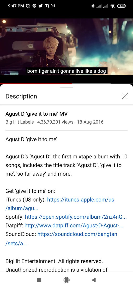 ONE FOR THE MONEY TWO FOR THE SHOW   #GiveItToMe #AgustD #sopesonastreamingparty #sopesona   (The bgm gives me village vibes? U can hear it in ending and starting too.. Idk how to explain it but village song vibes)   Playlist: