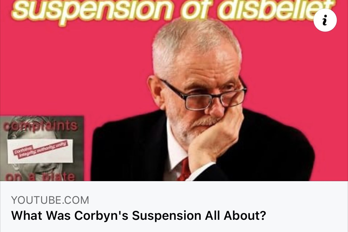 Even Tony Blair didn't deal with the issue. But the leader who took control and dealt with it got vilified for being anti-Semitic.    #StarmerOut #JeremyCorbyn #UKLabour #KeirStarmer #WeStandWithJeremyCorbyn #AngelaRayner