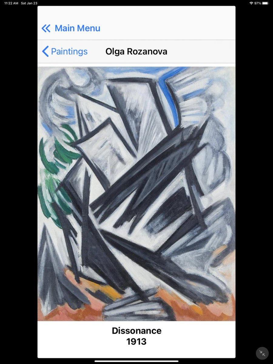 #Art #Education #App #Quiz #Museum #Game #Paris #Louvre #MetMuseum #MoMA #iPhone #Futurism #Cubism #Moscow #Russia #Startup #womenartist The best guide to the Masterpieces of Russian Avant-Garde.