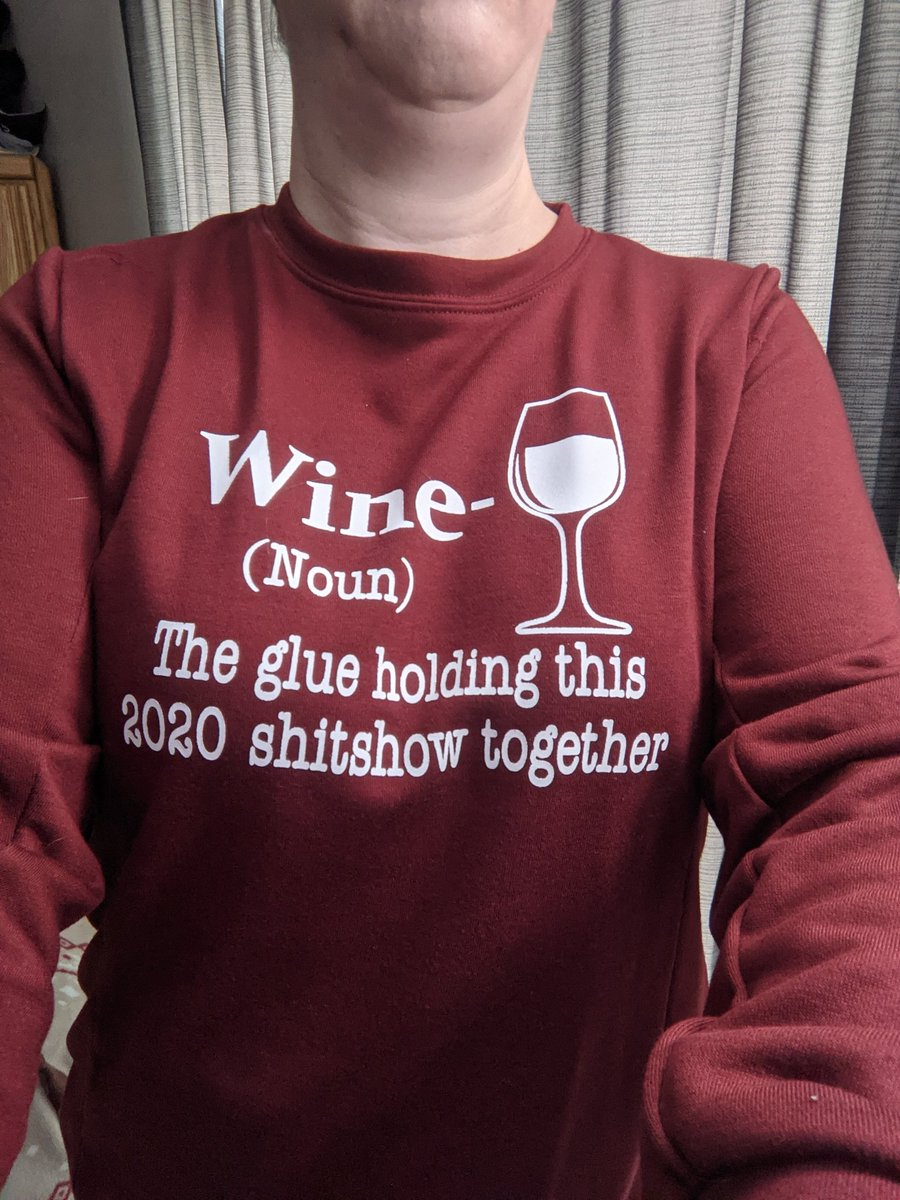It needs to add 2021 but still a great sweater! #2020WRAPPED #2021year