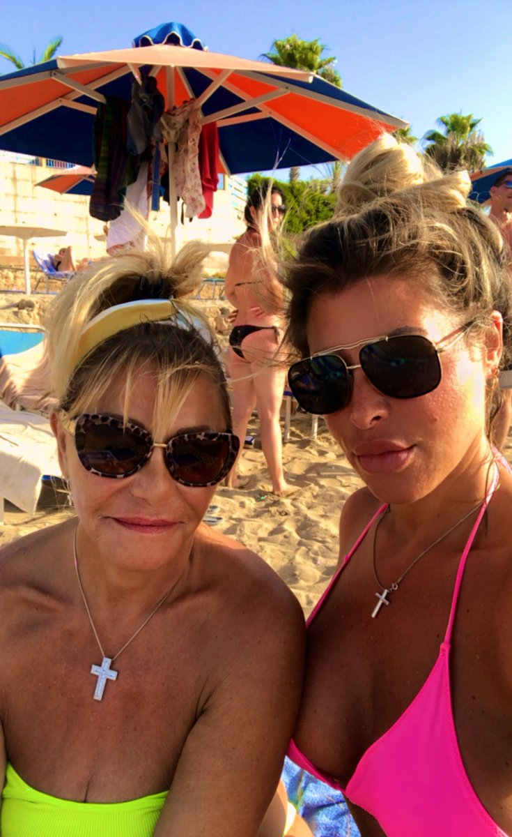 Miss being on the #beach in #Cyprus with my mama #September2020 #takemeback #paphos #travel #sunshine #SaturdayThoughts #saturday