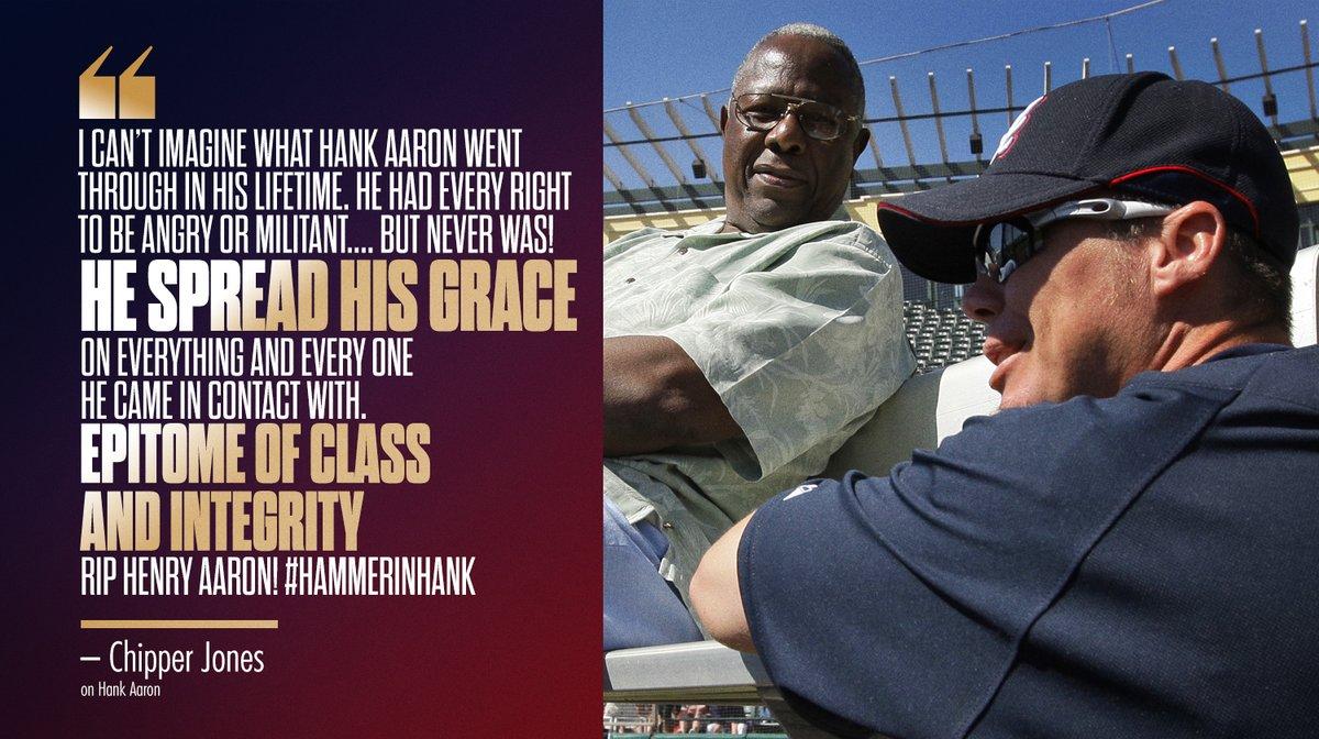 The baseball world remembers Hammerin' Hank.