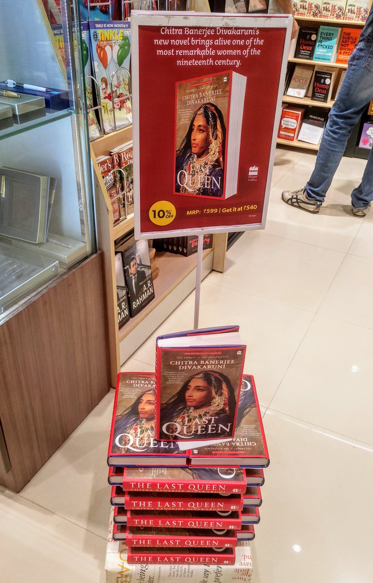 @cdivakaruni and it was right there. 😊 @crossword_book #Mumbai